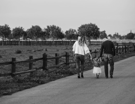 Raising a family away from your own